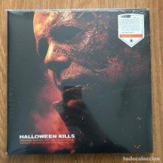 Discos de vinilo: JOHN CARPENTER - HALLOWEEN KILLS - LP SACRED BONES 2021 NUEVO - VINILO NARANJA - CODY CARPENTER. Lote 295292223