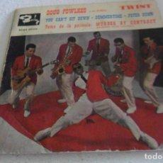 Discos de vinilo: DOUG FOWLKES - YOU CAN'T SIT DOWN + 3 EP 1961. Lote 295293483