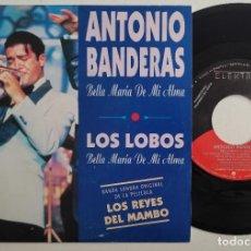 """Discos de vinilo: ANTONIO BANDERAS - BELLA MARIA DE MI ALMA 7"""" 1992 PROMOCIONAL BSO LOS REYES DEL MAMBO. Lote 295298388"""