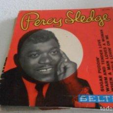 Discos de vinilo: PERCY SLEDGE - SUGAR PUDDIN' + 3 EP 1966. Lote 295298428