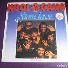 Discos de vinilo: KOOL & THE GANG – STONE LOVE (CLUB MIX) - MAXI SINGLE MERCURY 1986 - FUNK DISCO ELECTRONICA. Lote 295299098