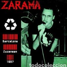 Discos de vinilo: ZARAMA–BARCELONA ZUZENEAN 1987- LP VINILO NUEVO PRECINTADO.. Lote 295300428