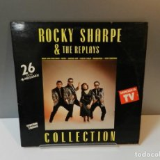 Discos de vinilo: DISCO VINILO 2 X LP. ROCKY SHARPE & THE REPLAYS – COLLECTION. 33 RPM. Lote 295301448
