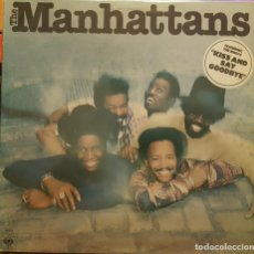 Discos de vinilo: THE MANHATTANS - KISS AND SAY GOODBYE. Lote 295303183