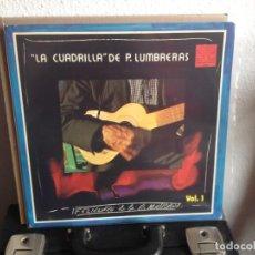 Discos de vinilo: LA CUADRILLA DE PUERTO LUMBRERAS - FOLKLORE... VOL.1 ALBUM VINYL LP (FOLK MURCIA) 1980 / M-NM. Lote 295303293