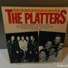 Discos de vinilo: DISCO VINILO LP. THE PLATTERS – 20 GREATEST HITS. 33 RPM. Lote 295303413