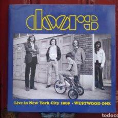 Discos de vinilo: THE DOORS–LIVE IN NEW YORK CITY 1969: WESTWOOD ONE. LP VINILO NUEVO PRECINTADO. Lote 295303923