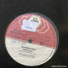 "Discos de vinilo: NATASHA KING - AM-FM (RAP) - 12"" MAXISINGLE BABY 1983 - ITALO DISCO. Lote 295307143"