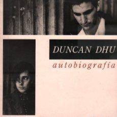 Dischi in vinile: DUNCAN DHU - AUTOBIOGRAFÍA / DOBLE LP GASA RECORDS 1989 / BUEN ESTADO RF-10642. Lote 295309093