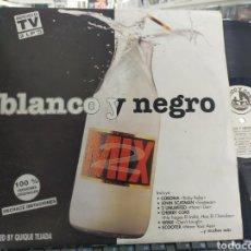 Discos de vinilo: BLANCO Y NEGRO MIX 2 DOBLE LP 1995 CARPETA DOBLE. Lote 295309928