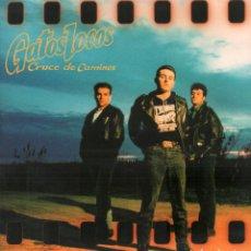 Dischi in vinile: GATOS LOCOS - CRUCE DE CAMINOS / LP GASA 1991 / CELO EN CARATULA. VINILO BUEN ESTADO RF-10646. Lote 295310288