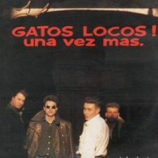 Dischi in vinile: GATOS LOCOS - UNA VEZ MAS / LP GRABACIONES ACCIDENTALES 1989 / BUEN ESTADO RF-10647. Lote 295310408