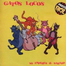 Dischi in vinile: GATOS LOCOS - NO ESPERES AL SABADO / LP GRABACIONES ACCIDENTALES 1987 / BUEN ESTADO RF-10648. Lote 295310608
