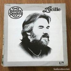Discos de vinilo: KENNY ROGERS - LUCILLE (1976) - LP UA 1980. Lote 295311653