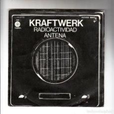 Discos de vinilo: KRAFTWERK: RARA MUESTRA INVENDIBLE DE CORTYDIX-GERMANY ELECTRONIC- SINGLE PROMO COLECCIONISTAS. Lote 295331093
