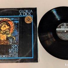 """Discos de vinilo: 1021- GLORIA A DIOS CORO ABADIA PAISLEY VIN 12"""" LP POR VG+ DIS VG+ 1973 ES. Lote 295331208"""