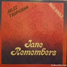Discos de vinilo: JULES TROPICANA - JANE REMEMBERS. Lote 295331533