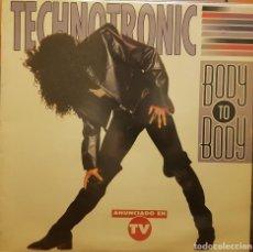 Discos de vinilo: TECHNOTRONIC BODY TO BODY. Lote 295332153