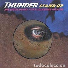 Discos de vinilo: THUNDER: STAND UP / INTERVIEW. FOTODISCO ORIGINAL U.K. INCLUYE 2 POSTERS. Lote 295332583