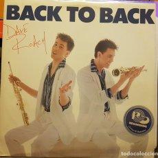 Discos de vinilo: BLACK TO BACK - DAVE ROACH. Lote 295332848