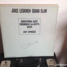 Discos de vinilo: JUICE LESKINEN GRAND SLAM - BOOGIETEORIAN.../ 2LPS (FOLK ROCK FINLANDIA) 1983. NM-NM. Lote 295332908