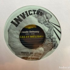 """Discos de vinilo: FREDA PAYNE - BAND OF GOLD / THE EASIEST WAY TO FALL (7"""", SINGLE). Lote 295333158"""