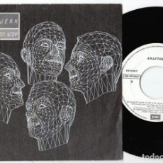 Discos de vinilo: KRAFTWERK: RARO SINGLE PROMO - NOT FOR SALE-MUSIQUE NON STOP-1986-E.M.I.. Lote 295336258