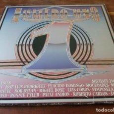 Discos de vinilo: VARIOS - NUMERO 1 - DOBLE LP RECOPILATORIO CBS ESPAÑA 1984 CARPETA DOBLE. Lote 295338458