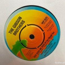 "Discos de vinilo: GIBSON BROTHERS - QUE SERA MI VIDA (IF YOU SHOULD GO) / HEAVEN (7"", SINGLE). Lote 295338678"