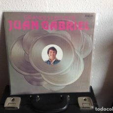 Discos de vinilo: JUAN GABRIEL - GRANDES EXITOS DE JUAN GABRIEL / LP (LATIN, RANCHERA ) 1977 VENEZUELA. NM-NM. Lote 295340858
