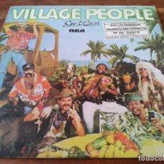 Discos de vinilo: VILLAGE PEOPLE - GO WEST... - LP ORIGINAL RCA 1979 - HECHO EN EL SALVADOR. Lote 295341393