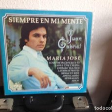 Discos de vinilo: JUAN GABRIEL - SIEMPRE EN MI MENTE / LP (LATIN, RANCHERA ) 1977 VENEZUELA. NM-NM. Lote 295341943