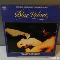 Discos de vinilo: DISCO VINILO LP. ANGELO BADALAMENTI – BLUE VELVET. 33 RPM. Lote 295342018