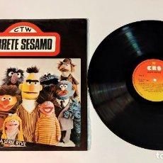 "Discos de vinilo: 1021- ABRETE SESAMO BSO SERIE RTVE 1976 ES VIN 12"" LP POR VG+ DIS NM. Lote 295342493"