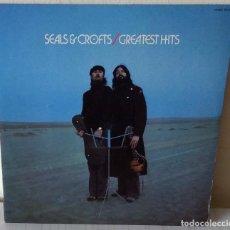 Discos de vinilo: SEALS & CROFTS - GREATEST HITS W B - 1975. Lote 295343743