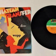 "Discos de vinilo: 1021-THE MANHATTAN TRANSFER DOO WOPP VIN 12"" LP POR G DIS G 1984 ES. Lote 295346003"