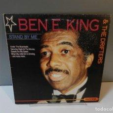 Discos de vinilo: DISCO VINILO LP. BEN E. KING & THE DRIFTERS – STAND BY ME. 33 RPM. Lote 295346793