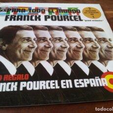 Discos de vinilo: FRANCK POURCEL - PARA TODO EL MUNDO Y EN ESPAÑA - DOBLE LP EMI ODEON1975 CARPETA DOBLE. Lote 295347043