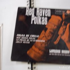 Discos de vinilo: LAWRENCE DUCHOW (RED RAVEN POLKAS) / POLKA DE EMILIA + 3 (EP 1962) -N. Lote 295349758