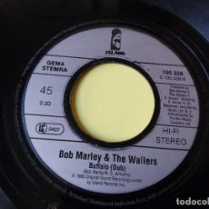 "Discos de vinilo: BOB MARLEY & THE WAILERS – BUFFALO SOLDIER, VINILO 7"" SINGLE 1983 GERMANY 105338. Lote 295351178"