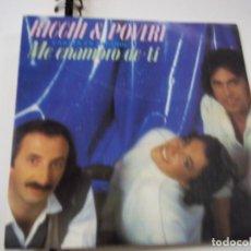Discos de vinilo: RICHI & POVERI DISCO SINGLE VINILO ME ENAMORO DE TI. Lote 295351313