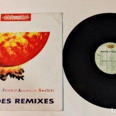 """Discos de vinilo: 1021- POWER OF AMERICAN NATIVES 12"""" INCLUDE REMIXES POR VG DIS G ES. Lote 295352818"""