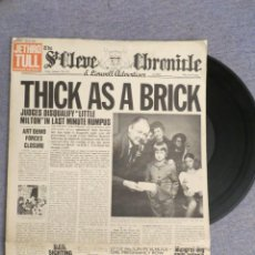 Discos de vinilo: LP JETHRO TULL THICK AS A BRICK 1ST 1972 EX ++ NEWSPAPER FOLD OUT COVER (SPAIN). Lote 295357758