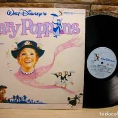 Discos de vinilo: WALT DISNEY'S MARY POPPINS SONGS & DIALOGUE FROM THE ORIGINAL MOTION LP. Lote 295359138