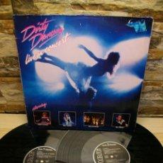 Discos de vinilo: DIRTY DANCING - LIVE IN CONCERT 2 X LP. Lote 295359398