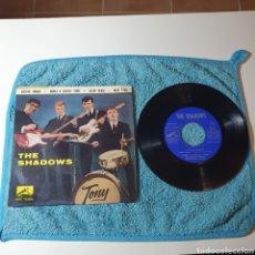 Discos de vinilo: MS-1. THE SHADOWS - GUITAR TANGO + 3 TEMAS - LA VOZ DE SU AMO 7EPL 13.850 ESPAÑA 1962.. Lote 295360268