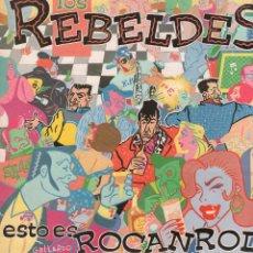 Dischi in vinile: LOS REBELDES - ESTO ES ROCANROL / LP TWINS DE 1984 / BUEN ESTADO RF-10659. Lote 295360568