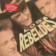 Dischi in vinile: LOS REBELDES - MAS ALLA DEL BIEN Y DEL MAL / LP EPIC 1988 / CONTIENE ENCARTE / BUEN ESTADO RF-10660. Lote 295360648
