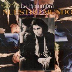 Discos de vinilo: LA PENUMBRA - NUESTO MUNDO / LP GAM RECORDS 1993 / BUEN ESTADO RF-10663. Lote 295361173