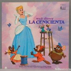 Discos de vinilo: LP. WALT DISNEY PRESENTA LA CENICIENTA. Lote 295362508